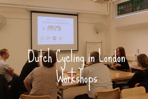 'Dutch Cycling in London' Workshops