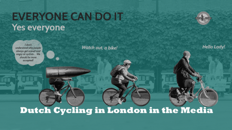 'Dutch Cycling in London' in the Media
