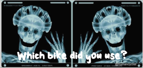 'Which bike did you use?'